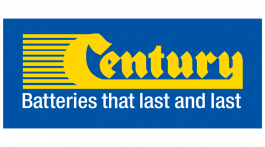 century batteries vector logo